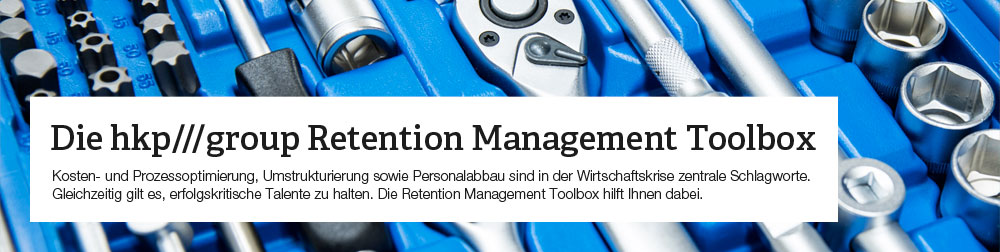 Die hkp/// group Retention Management Toolbox